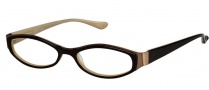 OGI Eyewear 4006 Eyeglasses Eyeglasses - 1118 Cherrywood / Antique Gold
