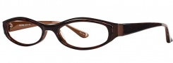 OGI Eyewear 4006 Eyeglasses Eyeglasses - 1116 Cherrywood / Dark Brown