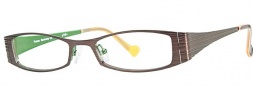 OGI Eyewear 4007 Eyeglasses Eyeglasses - 400 Dark Brown / Green