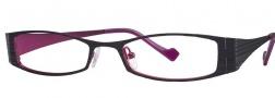 OGI Eyewear 4007 Eyeglasses Eyeglasses - 401 Dark Purple / Pink