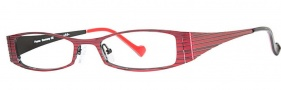 OGI Eyewear 4007 Eyeglasses Eyeglasses - 403 Red / Black