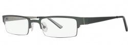 OGI Eyewear 4008 Eyeglasses  Eyeglasses - 1108 Olive / Gunmetal