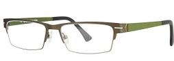 OGI Eyewear 4009 Eyeglasses Eyeglasses - 1245 Olive