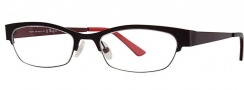 OGI Eyewear 4011 Eyeglasses Eyeglasses - 1150 Dark Gray / Red