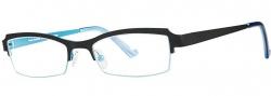 OGI Eyewear 4021 Eyeglasses Eyeglasses - 1206 Black / Ocean Blue