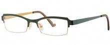 OGI Eyewear 4021 Eyeglasses Eyeglasses - 1126 Dark Olive / Dark Mustard