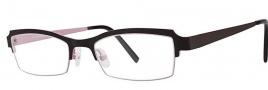 OGI Eyewear 4021 Eyeglasses Eyeglasses - 1207 Espresso / Light Pink