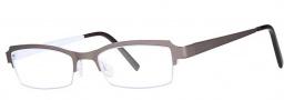 OGI Eyewear 4021 Eyeglasses Eyeglasses - 1186 Gunmetal / Lilac