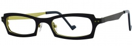 OGI Eyewear 4022 Eyeglasses Eyeglasses - 1178 Blue / Yellow Green