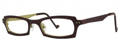 OGI Eyewear 4022 Eyeglasses Eyeglasses - 1172 Brown / Yellow Green