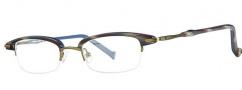 OGI Eyewear 4023 Eyeglasses Eyeglasses - 1242 Navy Cadet Stripe / Olive