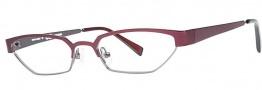 OGI Eyewear 4024 Eyeglasses Eyeglasses - 1256 Dark Burgundy / Dark Gunmetal
