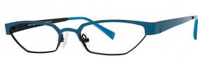 OGI Eyewear 4024 Eyeglasses Eyeglasses - 1255 Dark Teal / Black