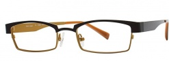 OGI Eyewear 4025 Eyeglasses Eyeglasses - 1253 Dark Brown / Light Bronze