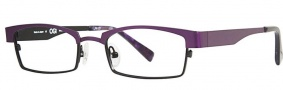 OGI Eyewear 4025 Eyeglasses Eyeglasses - 965 Dark Purple / Black