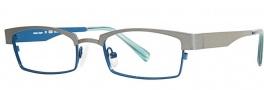 OGI Eyewear 4025 Eyeglasses Eyeglasses - 1254 Dark Silver / Blue