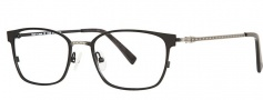 OGI Eyewear 4026 Eyeglasses Eyeglasses - 1327 Black / Antique Silver