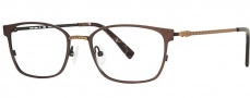 OGI Eyewear 4026 Eyeglasses Eyeglasses - 1326 Brown / Light Antique Gold