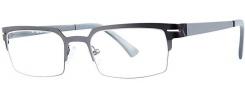 OGI Eyewear 4500 Eyeglasses Eyeglasses - 1247 Gunmetal