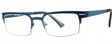 OGI Eyewear 4500 Eyeglasses Eyeglasses - 1421 Navy Blue