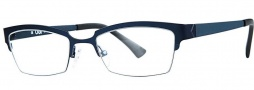 OGI Eyewear 4501 Eyeglasses Eyeglasses - 1421 Navy Blue