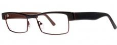 OGI Eyewear 4502 Eyeglasses Eyeglasses - 442 Amber Demi / Brown