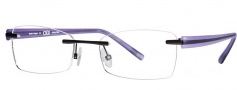 OGI Eyewear 503 Eyeglasses Eyeglasses - 55 Purple / Black