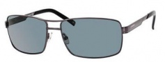 Carrera X-Cede 7022/S Sunglasses Sunglasses - KJ1P Dark Ruthenium (RH Gray Polarized Lens)