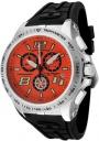 Swiss Legend Men's Sprint Racer 80040 Watch Watches - 80040-06 Black Rubber / Stainless Steel Case / Orange Dial