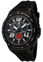 Swiss Legend Men's Sprint Racer 80040 Watch Watches - 80040-BB-01 Black Rubber / Black Case / Black Dial