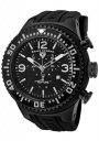 Swiss Legend Men's Neptune 11812P Watch Watches -  11812P-BB-01-WA Black Silicone Strap / Black Dial
