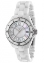 Swiss Legend Women's Karamica 20050 Watch Watches - 20050-WWSR White Ceramic / White Mother of Pearl Dial