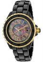 Swiss Legend Women's Karamica 20050 Watch Watches -  20050-BKBGR Black Ceramic Band / Black Mother of Pearl Dial