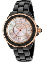Swiss Legend Women's Karamica 20050 Watch Watches - 20050-BKWRR Black Ceramic Band / White Mother of Pearl Dial
