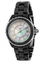 Swiss Legend Women's Karamica 20050 Watch Watches - 20050-BKWSR Black Ceramic Band / White Mother of Pearl Dial