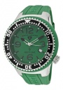 Swiss Legend Neptune 21848D Watch Watches - 21848P-08 Green Rubber / Green Dial