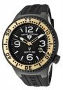 Swiss Legend Neptune 21848D Watch Watches - 21848P-BB-01-GA Black Silicone / Black Dial