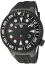 Swiss Legend Neptune 21848D Watch Watches - 21848D-BB-01-NB Black Rubber Strap / Black Dial