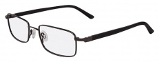 Flexon 666 Eyeglasses Eyeglasses - 001 Black Chrome