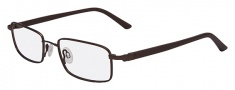 Flexon 666 Eyeglasses Eyeglasses - 237 Matte Brown