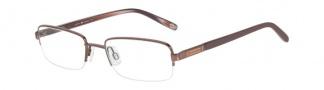 Joseph Abboud JA4017 Eyeglasses Eyeglasses - Brown