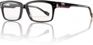 Smith Optics Intersection 3 Eyeglasses Eyeglasses - Black Red 459