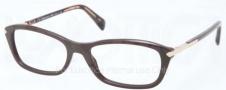 Prada PR 04PV Eyeglasses  Eyeglasses - DHO101 Dark Brown