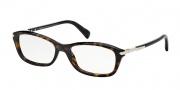 Prada PR 04PV Eyeglasses  Eyeglasses - 2AU1O1 Havana Demo Lens