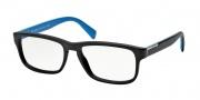 Prada PR 07PV Eyeglasses Eyeglasses - 1B0101 Matte Black Demo Lens