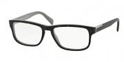 Prada PR 07PV Eyeglasses Eyeglasses - KA5101 Top Havana / Gray Demo Lens