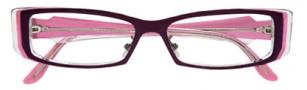 BCBGMaxazria Adele Eyeglasses Eyeglasses - AUB Aubergine
