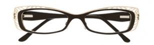 BCBGMaxazria Aliya Eyeglasses Eyeglasses - BLA Black