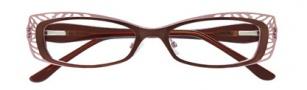 BCBGMaxazria Aliya Eyeglasses Eyeglasses - BRO Brown