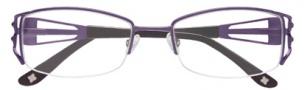 BCBGMaxazria Allegra Eyeglasses Eyeglasses - PLU Plum